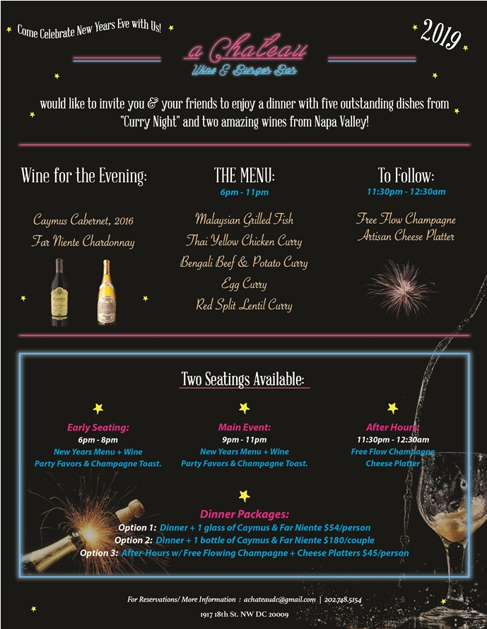 PoPville » Spend NYE with a Chateau, Caymus & Far Niente