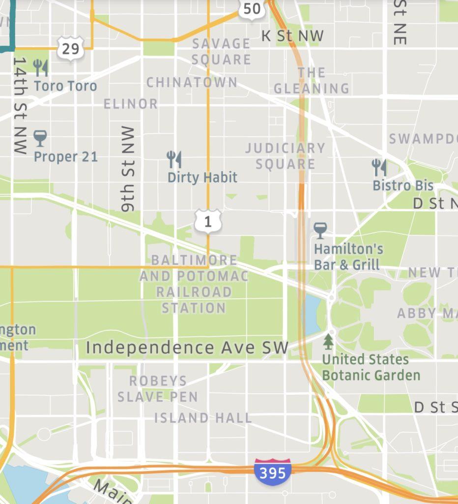 "PoPville » ""Interesting old neighborhood names of D.C. …on ..."
