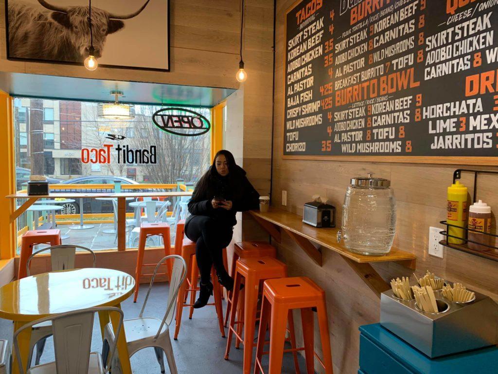 Popville Bandit Taco Soft Opened In Tenleytown Last Night