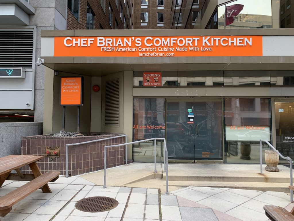 Looks Like Chef Brian's Comfort Kitchen