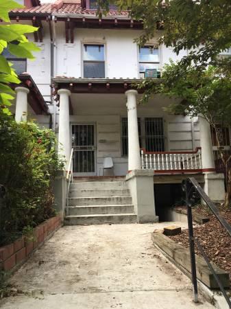 """Today's Rental """"is a room for rent in this beautiful recently renovated row house"""""""