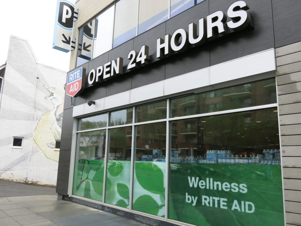 d9ddc9ebdb Glover Park's 24 Hour Rite Aid/Walgreens Pharmacy Closing May 13th, Rest of  the Store May 18th