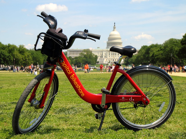Happy Earth Day - Ride a Bikeshare for Free on Monday