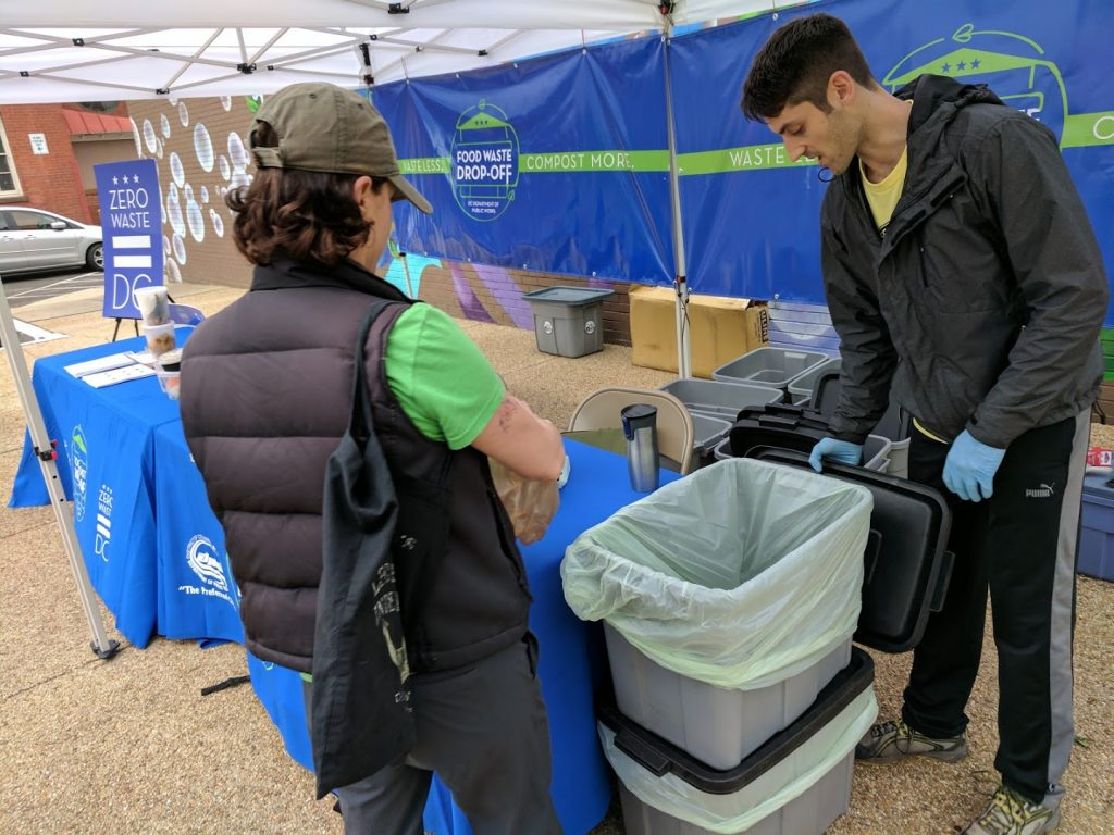 D.C.'s Food Waste Drop-Off Locations Reopen This Weekend at Various Farmers Markets