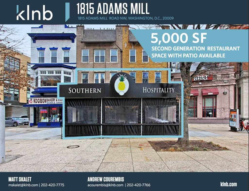 Southern Hospitality aka SOHO Listed For Sale in Adams Morgan
