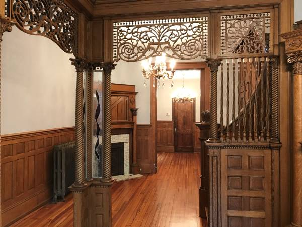 Today's Rental was chosen because of the woodwork