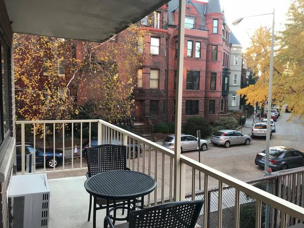 Today's Rental was chosen because it has a balcony