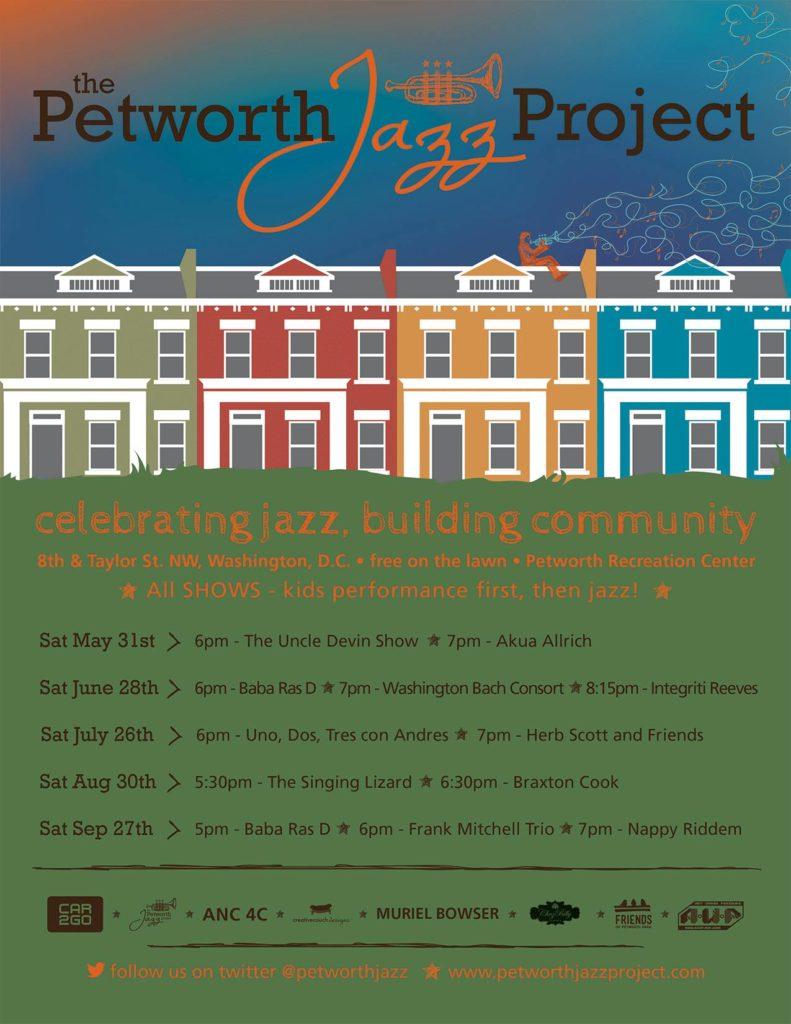 """""""The Petworth Jazz Project kicks off its 9th season this Saturday at 6pm"""""""