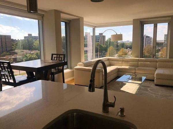 Today's Rental was chose because it's a South West Corner Unit in the South West Waterfront