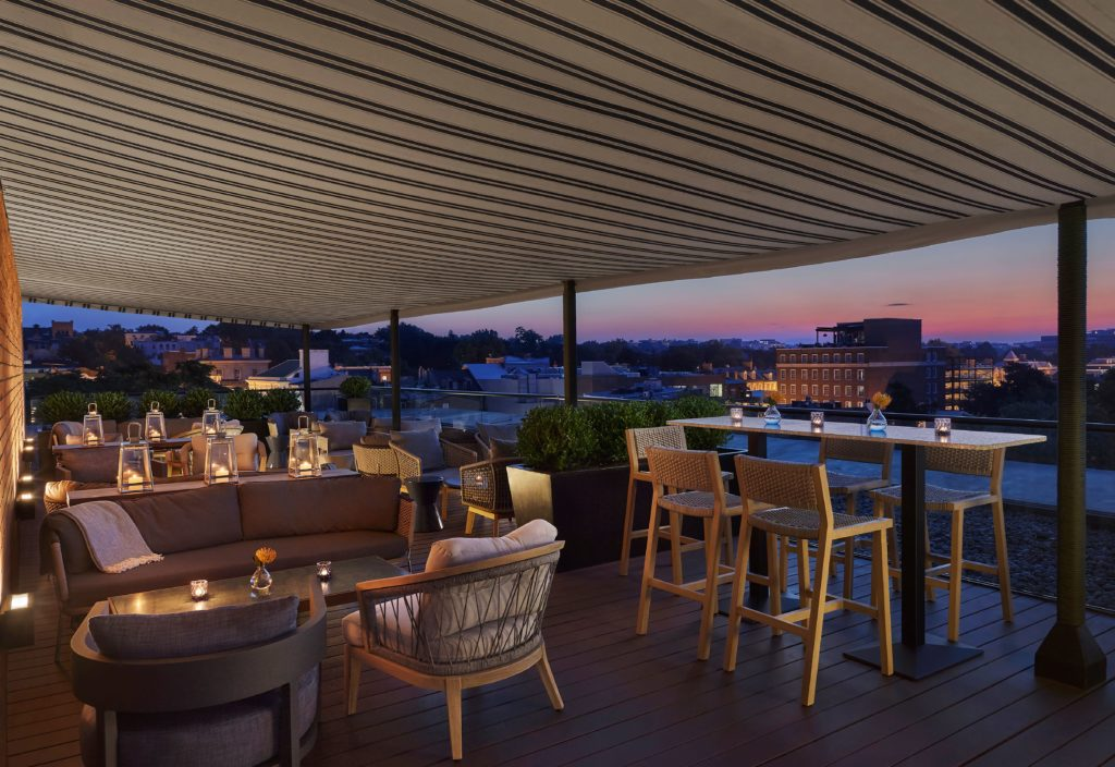 Popville Cut And Cut Above Roof Deck By Wolfgang Puck