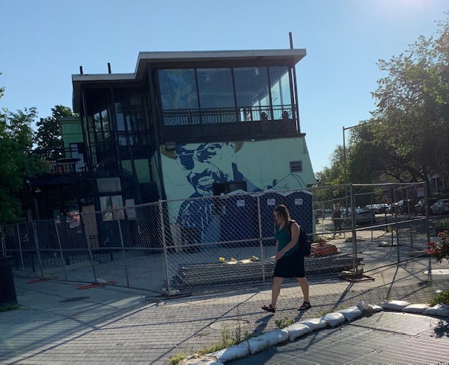 """Demo to Begin at Former Sweet Mango Cafe in Petworth """"plan includes 21 residential units above 6,000 square feet of ground floor and basement retail space"""""""