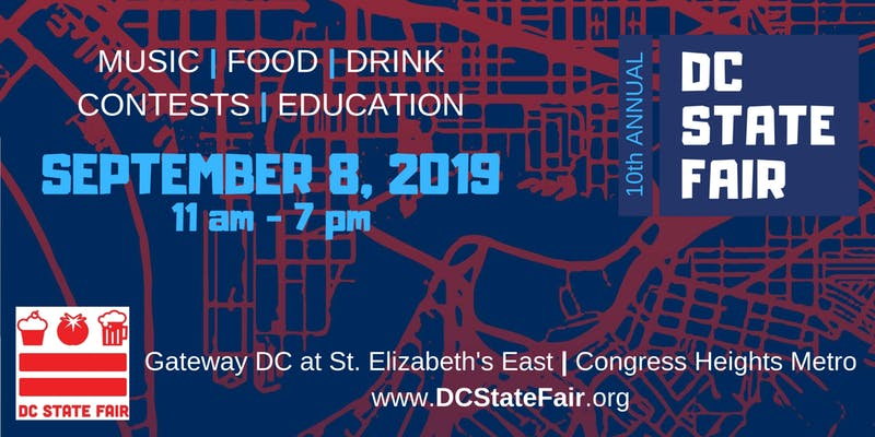 Mark It. This Year's DC State Fair will take place September, 8, 2019!