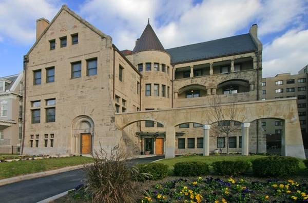Today's Rental was chosen for the building/courtyard