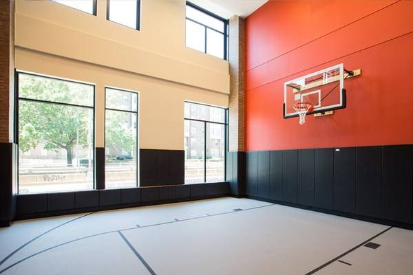 Today S Rental Was Chosen Because Apparently One Of The Amenities Is An Indoor Basketball Court Popville