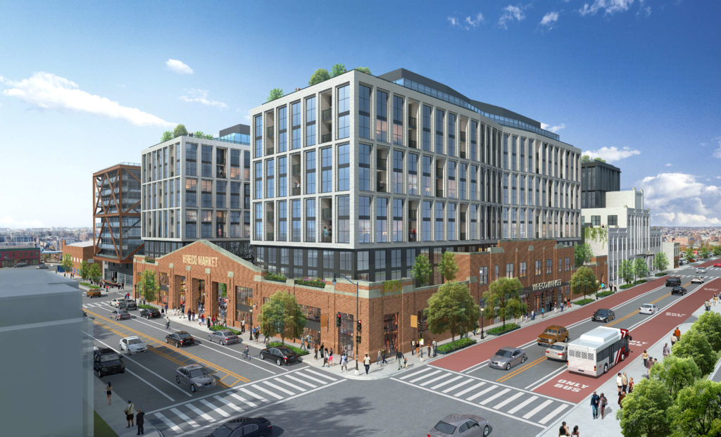 Plans moving forward for the Bond Bread Factory and Washington Railway & Electric Company buildings development near 9:30 Club