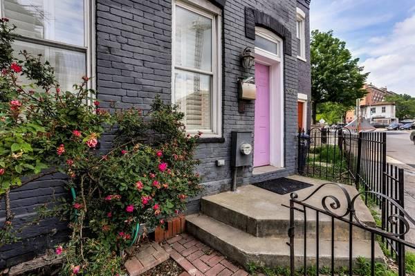Today's Rental was chosen because of the purple door