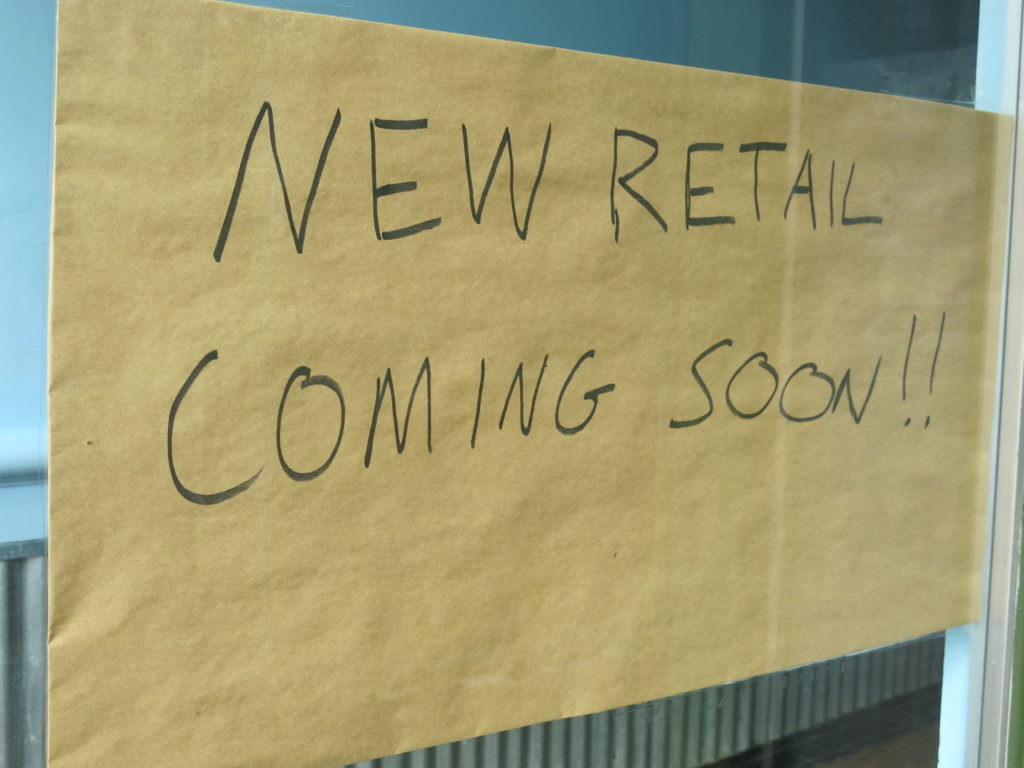 """About that """"New Retail Coming Soon!!"""" to the former Ben & Jerry's in Georgetown"""
