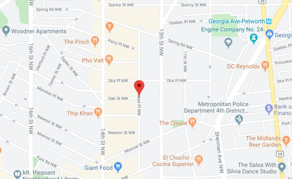 Report of Shots Fired in Columbia Heights