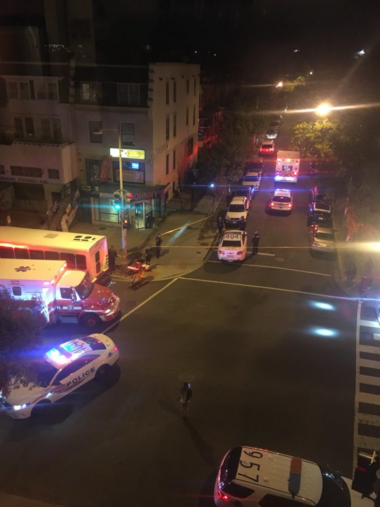 Double Shooting in Columbia Heights around 10:20pm Tuesday Night