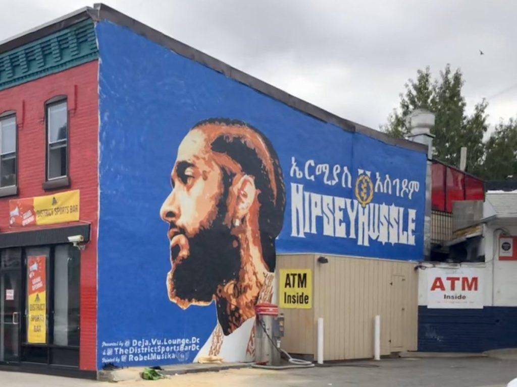 New Nipsey Hussle Mural Near 9:30 Club
