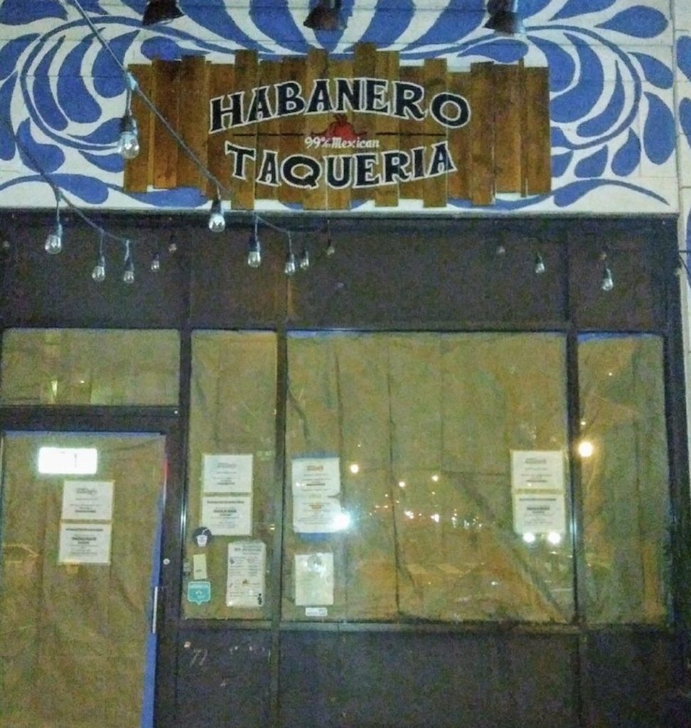 Taqueria Habanero Temporarily Closes for a Redesign on 14th Street