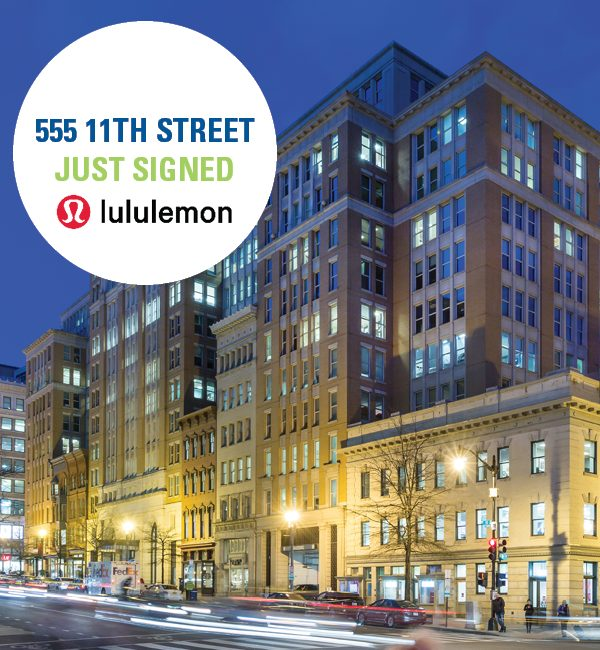 lululemon will be taking over the UNIQLO space on F Street after they close Feb. 21st
