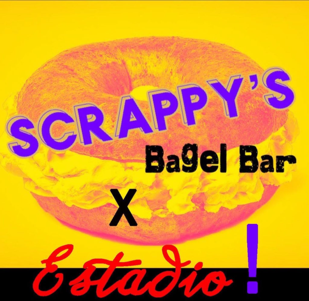 """PoPville » """"Scrappy's Bagel Bar – a temporary weekend pop-up from Chef Rob Rubba, featuring homemade bagels and schmears, plus at-home mimosa kits served out of its sister restaurant Estadio"""""""