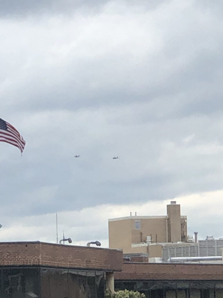 """Yup, Two F-22 Raptors Flew Over DC for """"dedication of the new World War I Memorial"""""""